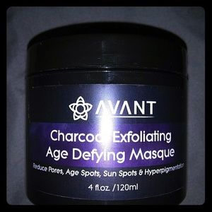 Avant charcoal exfoliating age-defying mask